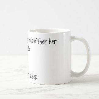 Pick Wife or Iaido Basic White Mug