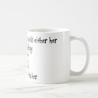 Pick Wife or Physiology Coffee Mug
