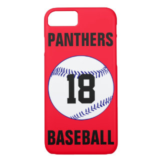 Pick Your Own Color Navy Blue Baseball Phone Case