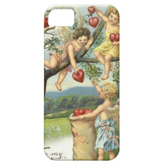 Pick Your Own Hearts with Vintage Cupids Case For The iPhone 5