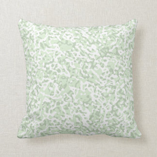 Pick Your Pastel Colour Marble Look Throw Pillow 3