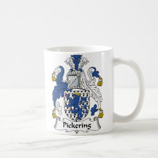 Pickering Family Crest Coffee Mug