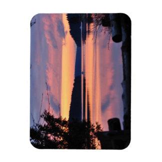 Pickering Passage Sunrise Rectangular Photo Magnet