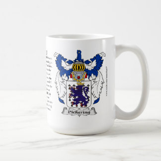 Pickering, the Origin, the Meaning and the Crest Mugs