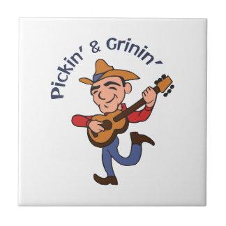 Pickin And Grinin Ceramic Tiles