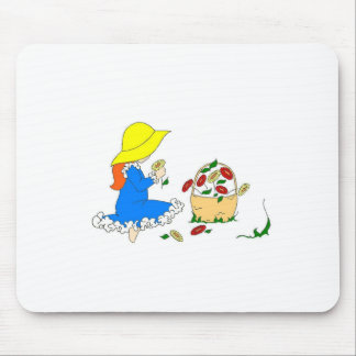 Picking Flowers Mouse Pad
