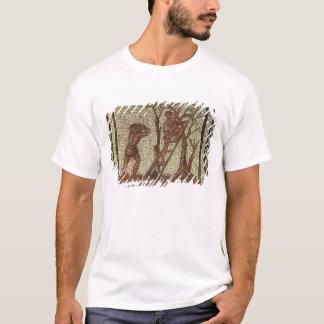 Picking Fruit, Roman Mosaic T-Shirt