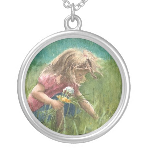 Picking Wildflowers Necklace