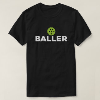 (Pickle)Baller Dark Pickleball Shirt