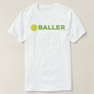 (Pickle)Baller Funny Pickleball Shirt