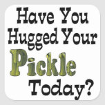 Pickle Hugger Stickers