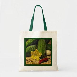 Pickle Ingredients Budget Tote Bag