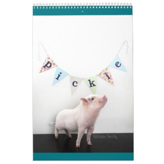 Pickle the Pig Calendar