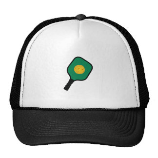 PICKLEBALL AND PADDLE TRUCKER HAT