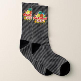 Pickleball Blast 1 Options All-Over-Print Socks