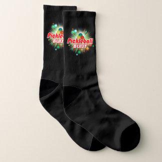 Pickleball Blast 2A-2C All-Over-Print Socks