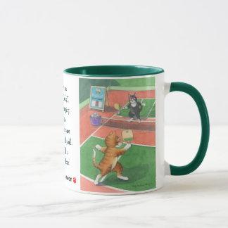 Pickleball Cats Bud & Tony Mug