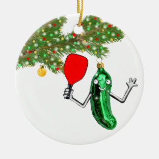 Pickleball Collectible Christmas Ornament