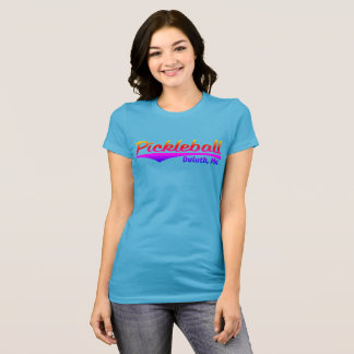 Pickleball Duluth Rainbow T-Shirt