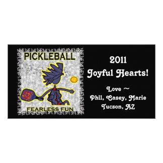 Pickleball Fearless Fun Photo Greeting Card