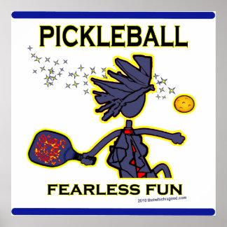 Pickleball Fearless Fun Print