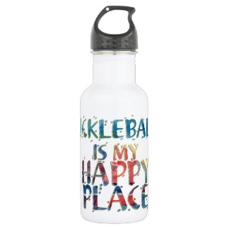 Pickleball Happy Place Water Bottle 532 Ml Water Bottle