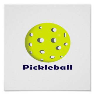 pickleball just ball n text.png poster
