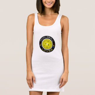 Pickleball Lover 1  Jersey Tank Dress