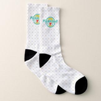 Pickleball Lover 2A-2B Option All-Over-Print Socks