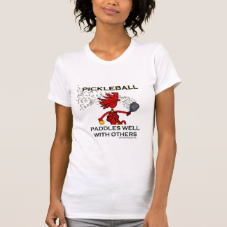 Pickleball Paddles Well With Others T Shirt