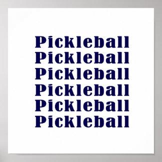 pickleball repeat dark blue.png posters
