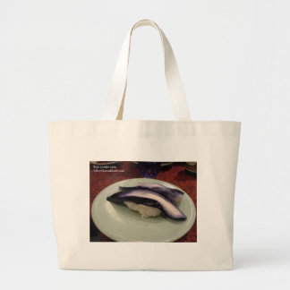 Pickled Eel Sashimi Dish Gifts Cards Mugs Etc Tote Bag
