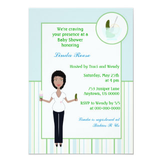 Pickles and Ice cream Boy Baby Shower Invitations