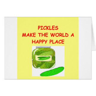 pickles card