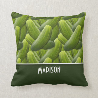 Pickles; Pickle Pattern Cushion