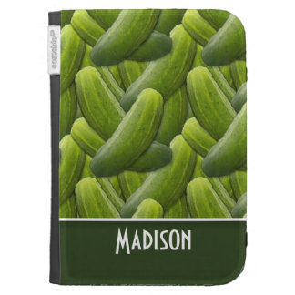 Pickles Pickle Pattern Kindle Keyboard Covers