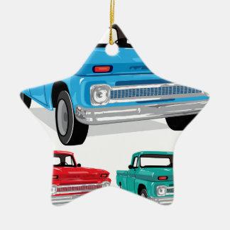 PickUp Farm Truck Christmas Ornament