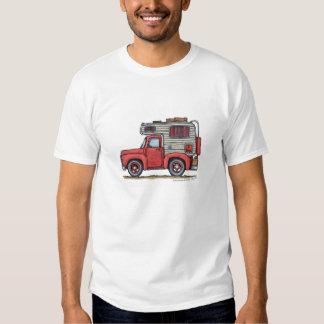 Pickup Truck Camper RV Apparel T-Shirt