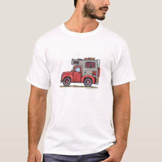 Pickup Truck Camper RV Apparel T-Shirt