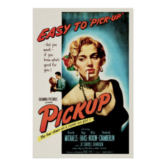 Pickup - Vintage 1951 Film Noir Movie Poster