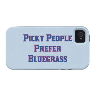 Picky People Prefer Bluegrass Case-Mate iPhone 4 Case