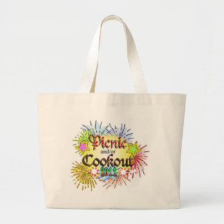 Picnic and/or Cookout 2011 Canvas Bags