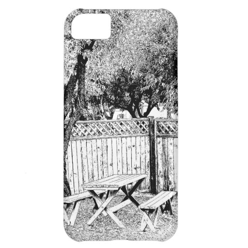 Picnic Area in the Campground iPhone 5C Cases