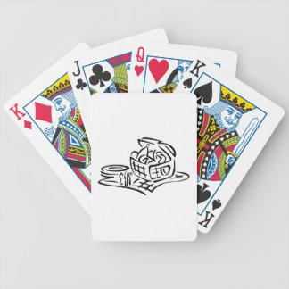 Picnic Basket Bicycle Playing Cards