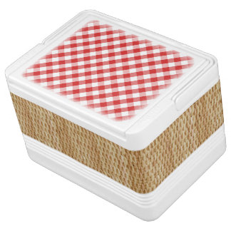 Picnic Basket Cooler Igloo Cooler