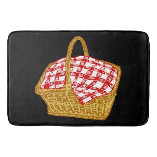 Picnic Basket Graphic Bath Mats