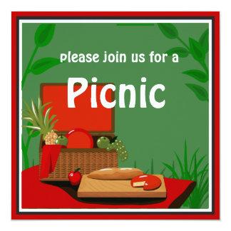 Picnic Basket  Invitation