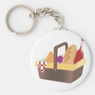 Picnic Basket Key Ring