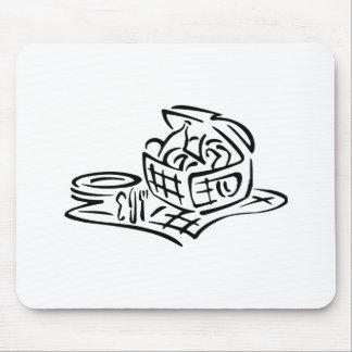 Picnic Basket Mouse Pad