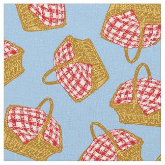 Picnic Basket Pattern Fabric